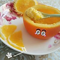 宝宝餐之香橙鸡蛋羹的做法图解3