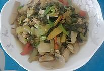 酸菜炒猪大肠的做法