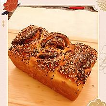 豆沙吐司面包