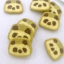萌萌哒熊猫饼干
