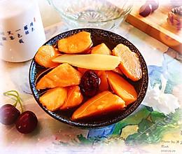 #我们约饭吧#四季不断供-香甜醇美,清火润燥-番薯糖水的做法