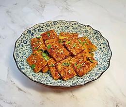 #《风味人间》美食复刻大挑战#香烤老豆腐的做法