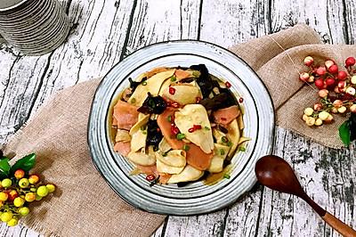 鲍汁三鲜杏鲍菇—下饭菜