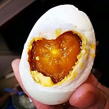 自制出油咸鸭蛋