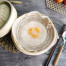 #年味十足的中式面点#桂花酒酿年糕汤