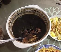 黑豆养生汤的做法