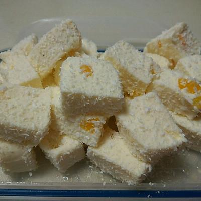 木瓜椰奶冻&黄桃雪花糕