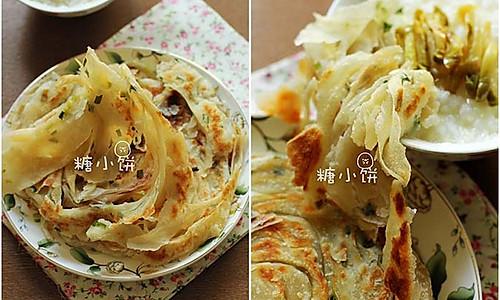 【葱油饼】的做法