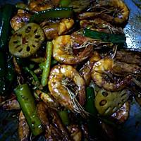 家庭版干锅香辣虾(超过很多酒店的味道)的做法图解5
