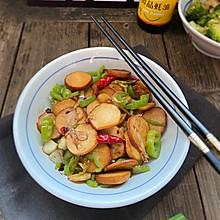 #味达美名厨福气汁,新春添口福#青椒炒豆腐卷