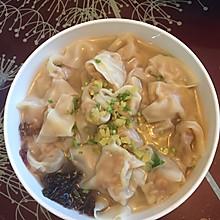 香菇猪肉虾仁三鲜馄饨