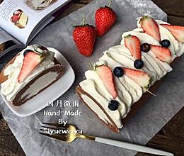 日式巧克力棉花蛋糕卷的做法
