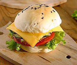 芝士汉堡包#百吉福芝士力量#的做法