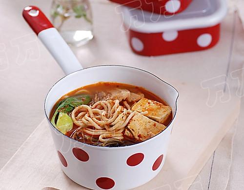 泡菜火鍋面