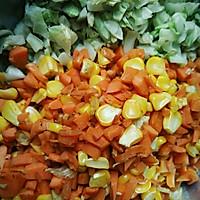 杂蔬鸡胸肉#低脂无油的做法图解2
