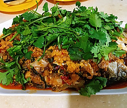 藿香鲫鱼—超级简单的大菜的做法