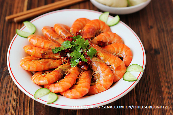水煮香辣虾