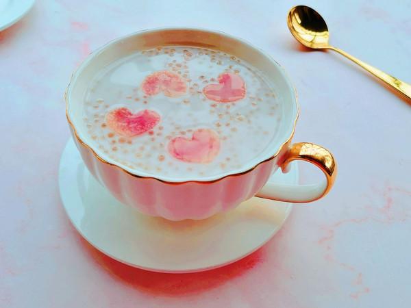 软糯Q弹的水蜜桃西米露 附煮晶莹剔透的西米露的做法