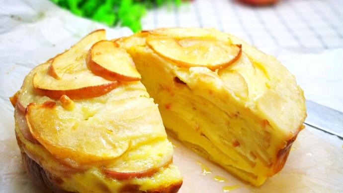 苹果蛋糕 无须打蛋白