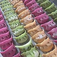 手工彩色水饺饺子的做法图解10