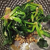 最正宗韩式拌菠菜的做法图解3