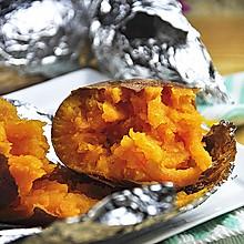 烤箱版烤红薯#松下烤箱试用#