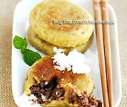 黄米面粘饼的做法
