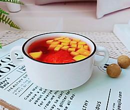 #今天吃什么#减脂水果养生汤的做法