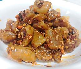 红油萝卜干的做法