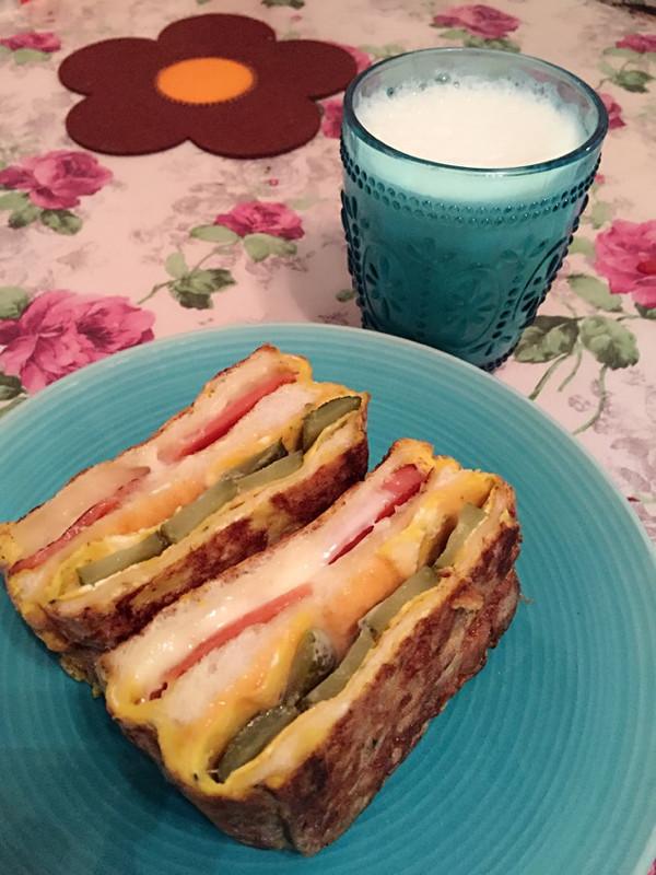 面包片图鲁鲁的做法