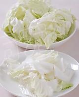 醋溜白菜的做法图解1
