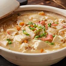 【咸蛋黄豆腐羹】豆腐烧得好,蛋要用得妙!