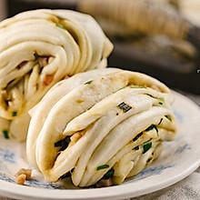 【早餐必备】葱香火腿花卷