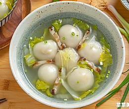 香菇鲜肉汤圆|鲜香美味的做法