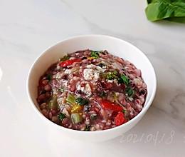 咸蛋蔬菜杂粮粥的做法