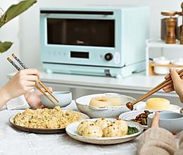 一日三餐:豆腐狮子头、地三鲜、小米蒸排骨【不藏私】的做法