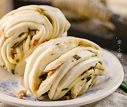 【早餐必备】葱香火腿花卷的做法