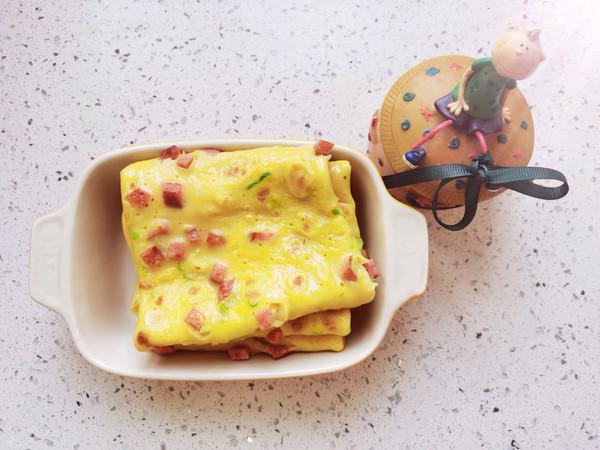 营养早餐鸡蛋饼的做法