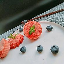红曲芝士蛋糕#我的烘培不将就#