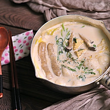 冬日豆浆暖锅
