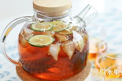 夏天一定不能错过水果茶,清爽酸甜的养颜茶。