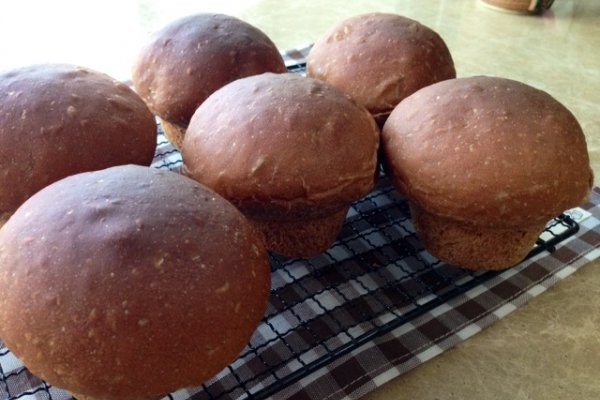 蘑菇小面包~肉桂葡萄馅的做法