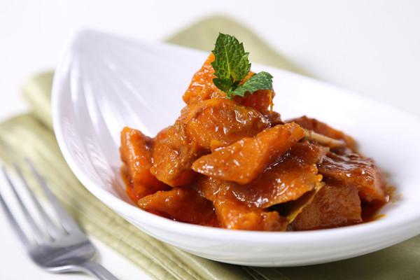 咖喱南瓜-自动烹饪锅版食谱 的做法