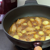 无油红烧鸡翅土豆的做法图解7