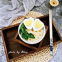 【鸡汁龙须面#雀巢营养早餐#】的做法图解6