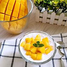 椰浆芒果西米露