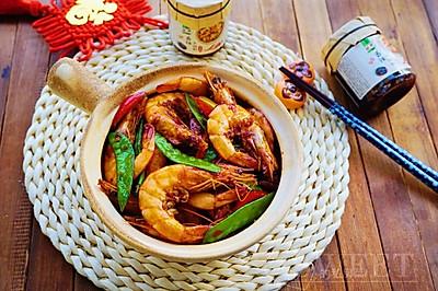 什锦干锅香辣虾
