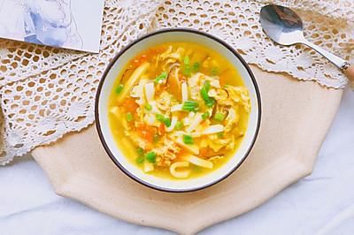 黄金豆腐汤