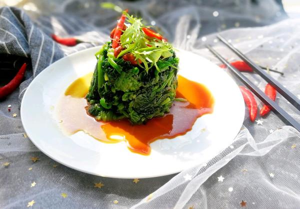 老醋花生菠菜的做法