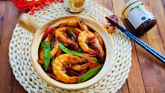 什锦干锅香辣虾的做法